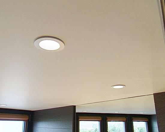 Точечные светодиодные светильники.